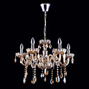 6-light Bright Chrome K9 Crystal Chandelier (1069-J9861-D6)