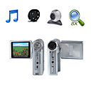 HD 1280*720@30FPS 5MP 8XDigital Zoom Digital Video Camera with 2.4&quot; LCD Screen MP3 PC Camera TV Out Function (HD-569)