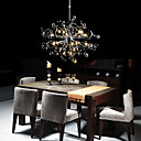 20-light Chrome K9 Crystal Chandelier (0942-98002-D-20BNW)