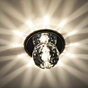 Chrome Finish Mini K9 Crystal Ceiling Light (8 PCs)