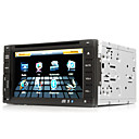 2-DIN CAR DVD Player with 6.2 Inch Touchscreen + GPS + Steering Wheel Control
