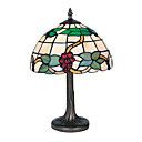 10 Inch Tiffany-style Grape Fruit Pattern Table Lamp (0835-G10279)