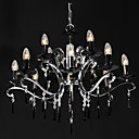 12-light K9 Black Color Crystal Chandeliers  (1017-DY1094-12)