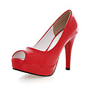 Leatherette Upper Stiletto Heel Platform Wedding/ Party Shoes More Colors