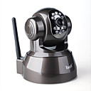 EASY N IP Camera(FS-613B-M166I) - Support several ways for remote control(Black)