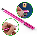 Touchscreen Writing Stylus with Ball Pen for iPad, iPhone, Playbook, Xoom and P1000 (Pink)