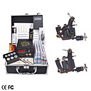 Professional Tattoo Kits With 2 Guns LCD Power and 40 Color Ink