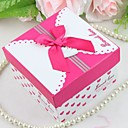 """Sweet Love"" Gift Box with Fuchsia Bow (set of 12)"