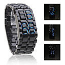 Unisex LED Horloge (Zwart)