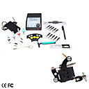Mini Tattoo Machine Kit with Dual Output LCD Power Supply