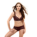 Cotton With Lace Demi Cup Multi-Way Extreme Lift Wedding/ Party Underwear Set