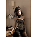 Brocade Strapless Front Busk Closure Corsets Special Occasion Shapewear