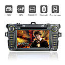 7-inch cran tactile 2 din dans la voiture-Dash DVD Player pour 2008-2009 toyota corolla avec fonction GPS (szc595)