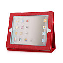Red 2 in 1 Protective Crocodile Leather Case For iPad2