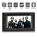 6.2 &quot;Digital-Screen 2 DIN-Car DVD-Player-Multi-Language-tv-Bluetooth-ipod-gps-Pip-Lenkrad-Steuerung (szc1831)