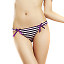 6 Pieces Chinlon Low Waist With Bowknot Wedding/ Party/ Honeymoon Panties