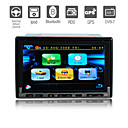 7 Inch Digital Touchscreen 2Din Car DVD Player with GPS Bluetooth Digital TV