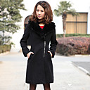 TS Fur Trimmed Pea Coat