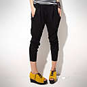 ts effen kleur losse broek