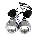 h1/h4/h7/9005/9006 lens licht bi-xenon HID (blauw)