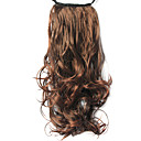 High Quality Synthetic 9.05&quot; Natural Curly Dark Brown Ponytail