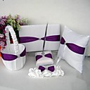 Garden Themed Wedding Collection Set With Lilac Sash (5 Pieces)