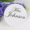 "Personalized ""Mrs."" Chest Card"