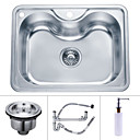 23 inch Undermount Stainless Steel Kitchen Sink (Single Bowl)