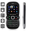 dual sim 2,0 inch QWERTY-toetsenbord mobiele telefoon (java, tv, fm, mp3, mp4, bluetooth)