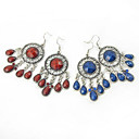 Antique Silver-plated European Style Earring