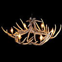 Artistic Antler Featured Chandelier with 6 Lights