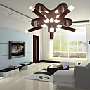 Modern Artistic Semi Flush Mount with 10 Lights