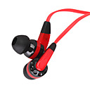 3.5mm Stereo Fashion flat line In-Ear Headphone