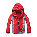 Eamkevc - Women's Waterproof Lightweight Seam Sealed Hooded Ski Jacket