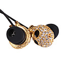 3.5mm Stereo High quality Diamond-studded Skull With Chin Fashion In-ear MP3/MP4 Headphone