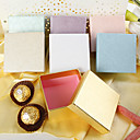 Pearl Paper Square Favor Box (Set of 12)