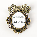 Personalized Old-fashion Handmade Brooch - Our Wedding Day