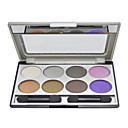 8 Colors Eye Shadow Palette with Free Brush(4#)
