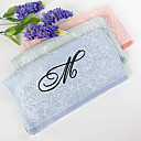 Personalized Initial Flower Towel