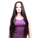 "Full Lace With Stretch On Crown Silky Straight 26"" Indian Remy Lace Wig 9 Colors To Choose"