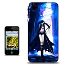 Black Rock Shooter Blue Forest Version Anime Case for iPhone 4/4s