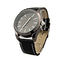 Charming Ladies' Quartz Movement PU With Round Shape Wrist Watch(More Colors)