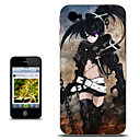 Black Rock Shooter Rock Version Anime Case for iPhone 4/4s