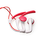 Noise Isolation In-Ear Stereo Earphones(Red+White 3.5mm Jack / 112cm Cable)