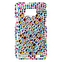 Colorful Protective Hard Case with Crystal for Samsung i9100