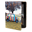 Novelty PU Leather Case with Stand for iPad 2
