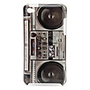 Protective Radio Cassette Pattern Case for iPod Touch 4