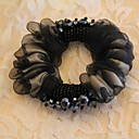 TS Black Beaded Hair Band