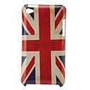 Retro Protective Hard Case for iPod Touch 4 (UK Flag)