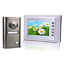 Wired Intercom 7 Inch Video Door Phone with Alloy Weatherproof Camera